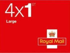 4 x 1st large