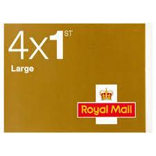 4 x 1st Class Large Letter ...