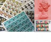 2nd Large Letter using Gummed Stamps