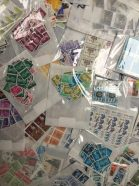 small value stamp packs of 100 stamps