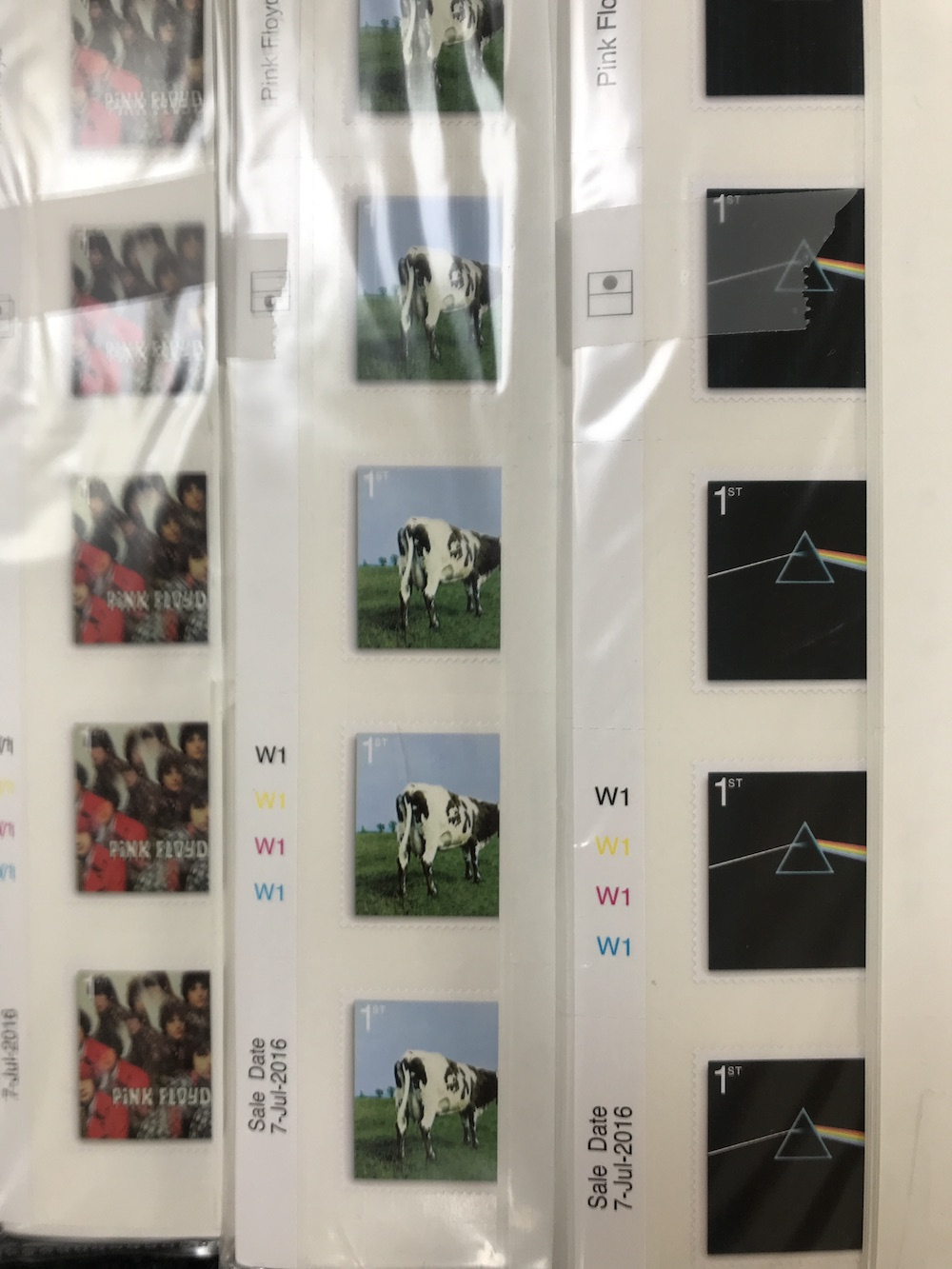 b90ad77b86faf 25 x Pink Floyd 1st Class Picture Stamps *10% Discount* Alternative to Xmas!